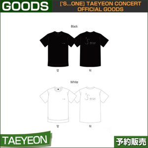 02 T-SHIRTS ['s...one] TAEYEON CONCERT OFFICIAL GOODS 1次予約|shopandcafeo
