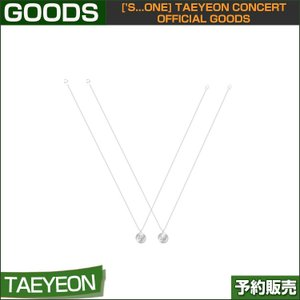 04 NECKLACE ['s...one] TAEYEON CONCERT OFFICIAL GOODS 1次予約|shopandcafeo