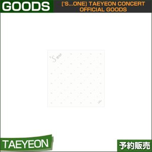 03 HAND TOWEL ['s...one] TAEYEON CONCERT OFFICIAL GOODS 1次予約|shopandcafeo