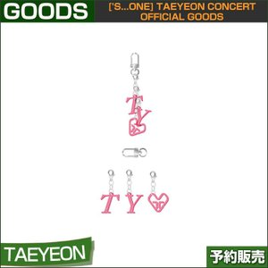05 ACRYLIC CHARM SET NAME ['s...one] TAEYEON CONCERT OFFICIAL GOODS 1次予約|shopandcafeo