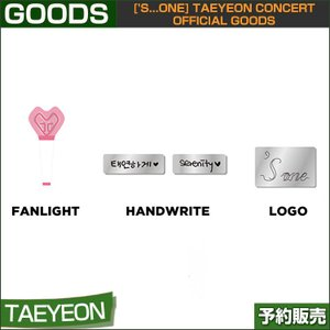 06 BADGE ['s...one] TAEYEON CONCERT OFFICIAL GOODS 1次予約|shopandcafeo