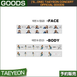 07 ROLL TAPE ['s...one] TAEYEON CONCERT OFFICIAL GOODS 1次予約|shopandcafeo