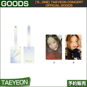 08 CARD HOLDER ['s...one] TAEYEON CONCERT OFFICIAL GOODS 1次予約|shopandcafeo