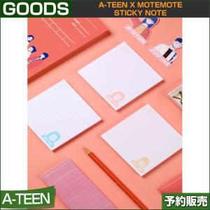 3種セット A-TEEN X motemote STICKY NOTE 1次予約|shopandcafeo