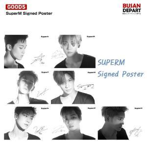 7種選択 SuperM Signed Poster(サイン入りポスター) アメリカ直輸入 2次予約 キャンセル不可 (デジタルアルバムは付きません)