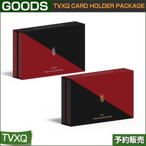 TVXQ CARD HOLDER PACKAGE [限定] 1次予約|shopandcafeo