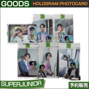 SUPERJUNIOR HOLOGRAM PHOTOCARD / SUM DDP / 1811SJ / 1次予約|shopandcafeo