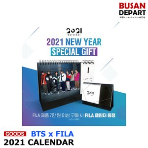 【BTS x FILA】【2021 CALENDAR】 シーズン グリーティング カレンダー seasons greetings 1次予約 送料無料|shopandcafeo
