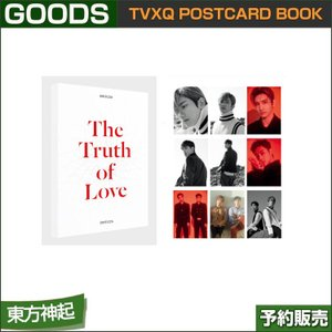 TVXQ POSTCARD BOOK / THE TRUTH OF LOVE OFFICIAL GOODS|shopandcafeo