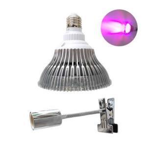 植物育成LED Plant Light18wクリップタイプ (OPT-18W)+(プラントクリップA)観葉植物 植物栽培ライト shopbarrel
