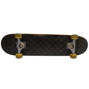 SUPREME(シュプリーム)Monogram Skate Deck モノグラム柄スケートボード デッキ ブラウン|shopbring