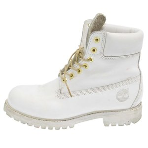 Timberland(ティンバーランド)6INCH PREMIUM BOOTS プレミアムブーツ 31181 ホワイト シューズ|shopbring