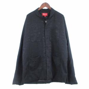 SUPREME(シュプリーム)18SS Mandarin Jacket マンダリンチャイナジャケット 最高 ブラック|shopbring