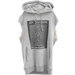 Rags McGREGOR(ラグス マックレガー)16SS JOY DIVISION ノースリーブプリントパーカー|shopbring