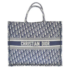 Christian Dior(クリスチャンディオール)BOOK TOTE ロゴジャガード総柄トートバッグ ハンドバッグ 50-MA-1108|shopbring