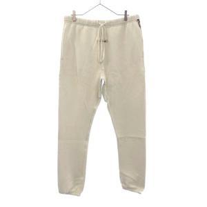 FOG Essentials (エフオージー エッセンシャルズ) Graphic Sweatpants フロントロゴ スウェット パンツ ホワイト|shopbring