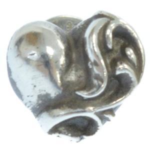 CHROME HEARTS(クロムハーツ)ハートスタッドシルバーピアス|shopbring