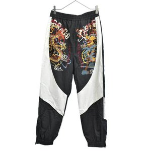 doublet (ダブレット) 18SS BREAK UP EMBROIDERY TRACK PANT 刺繍 ト|shopbring
