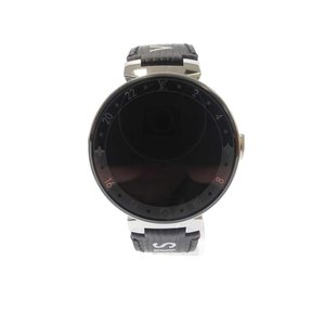 LOUIS VUITTON(ルイヴィトン)TAMBOUR HORIZON V2 タンブールホライゾンV2 デジタル腕時計 QA 050 0 ブラック|shopbring