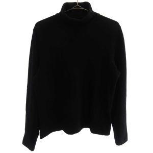 PRADA (プラダ) コットンタートルネックニット セーター ブラック|shopbring