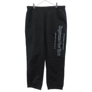 SUPREME(シュプリーム)20AW Side Logo Track Pant サイドロゴ トラックパンツ ブラック shopbring