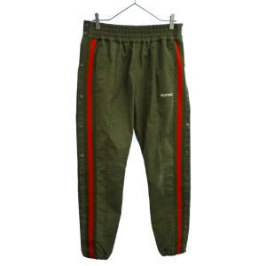 READY MADE(レディメイド)19SS SIDE SNAP TRACK PANTS サイドスナップトラックロングパンツ グリーン|shopbring