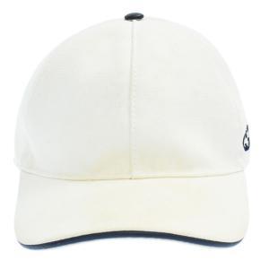 GUCCI(グッチ)サイドロゴ刺繍ベースボールキャップ ホワイト 387554|shopbring