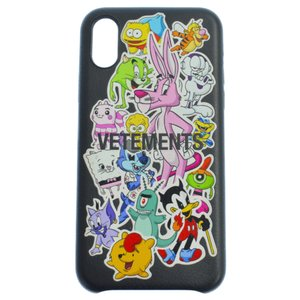 VETEMENTS (ヴェトモン) 20SS Stickers iPhone Case SS20SA005 ヴェトモン モンスターズステッカーアイフォンケース スマホケース マルチ|shopbring