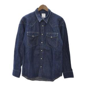 VISVIM(ビズビム)13SS ウエスタンインディゴデニムシャツ 0113105007005|shopbring
