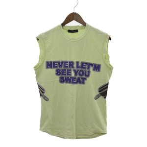 DSQUARED2(ディースクエアード)EVER LET'M SEE YOU SWEAT ノースリーブ カットソー|shopbring