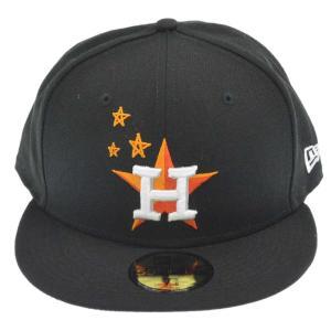 TRAVIS SCOTT(トラヴィススコット)×NEW ERA HUSTON ASTROS 59FIFTY CAP ニューエラ ヒューストン アストロス キャップ ブラック|shopbring