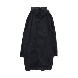 RAF SIMONS(ラフ シモンズ)16SS Parka with back patch Isolated hero デニムモッズコート shopbring