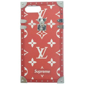 SUPREME(シュプリーム)×LOUIS VUITTON ×ルイヴィトン 17AW iphone7+ EYE-TRUNK FOR IPHONE 7 PLUS iPhoneケース モノグラムアイトランク M67758 レッド|shopbring