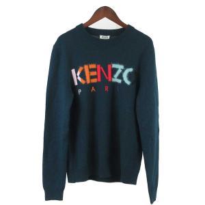 KENZO(ケンゾー)ウォームカラーフロントロゴデザイン クルーネックセーター|shopbring