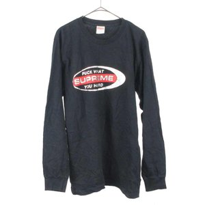 SUPREME(シュプリーム)16AW Fuck What You HeardTee フロントロゴ長袖Tシャツ カットソー|shopbring