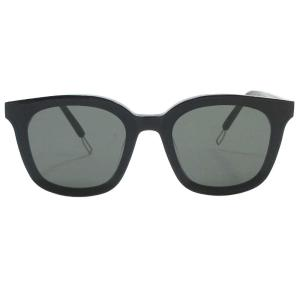 GENTLE MONSTER(ジェントルモンスター)FLATBA スモークレンズサングラス 眼鏡 メガネ ブラック papas 01|shopbring
