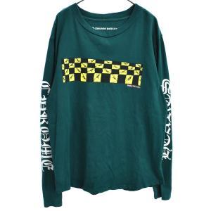 CHROME HEARTS(クロムハーツ)PPO ANTIDOTE LS CREW MATTY BOY グラフィックバックプリント長袖カットソー ロンT Tシャツ|shopbring