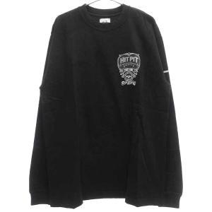 NEIGHBORHOOD (ネイバーフッド) 06AW HITPITエンブレムプリントロングスリーブTシャツ ロンT 長袖 ブラック|shopbring