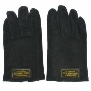 NEIGHBORHOOD(ネイバーフッド)パッチ付 スウェードレザー グローブ 手袋|shopbring