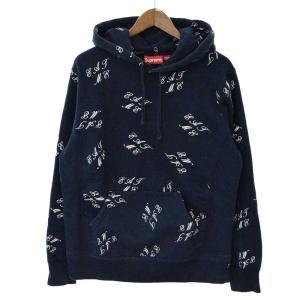 SUPREME(シュプリーム)Eat Me Hooded Sweatshirt 総柄プルオーバーパーカー|shopbring