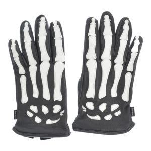 SUPREME(シュプリーム)17AW ×VANSON バンソン X-Ray Gloves ボーンレザーグローブ ブラック 手袋 黒|shopbring