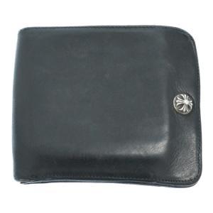 CHROME HEARTS(クロムハーツ)ワンスナップ クロスボタン 二つ折り短財布|shopbring