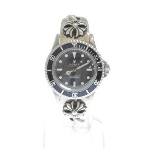 CHROME HEARTS(クロムハーツ)×ROLEX ロレックス SUB MARINER サブマリーナ CHプラスクラシックリンクウォッチブレス腕時計|shopbring