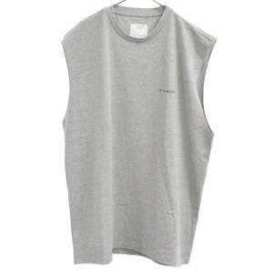 Gosha Rubchinskiy(ゴーシャラブチンスキー)GR-Uniform Unifoma Jersey   ロゴ ノースリーブ カットソー グレー|shopbring