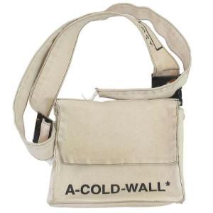 A-COLD-WALL(アコールドウォール)キャンバスロゴショルダーバッグ サコッシュ|shopbring