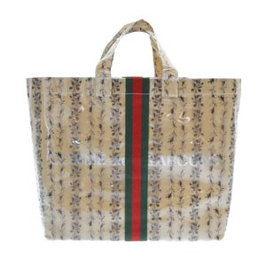 GUCCI(グッチ)× COMME des GARCONS コムデギャルソン 19AW LIMITED EDITION VINYL TOTE BAG PVC トートバッグ クリア|shopbring