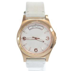 MARC BY MARC JACOBS(マーク バイ マーク ジェイコブス)ピンクゴールドレザー腕時計 ウォッチ|shopbring