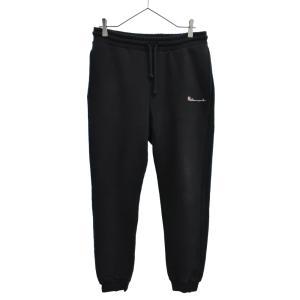 VETEMENTS(ヴェトモン)16SS Sweat Pants エンブロイダリー刺繍 スウェットパンツ ブラック|shopbring