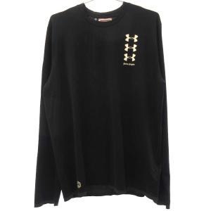 Palm Angels (パームエンジェルス) 19SS ×UNDER ARMOUR アンダーアーマー バックポケット ロングTシャツ|shopbring