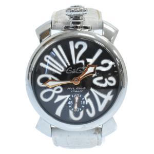 GaGa MILANO (ガガミラノ) マヌアーレ 腕時計 ホワイト|shopbring
